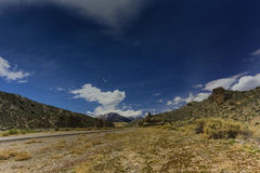Nevada Mountains, los E.E.U.U. fotografía de archivo libre de regalías