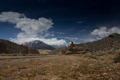 Nevada Mountains, los E.E.U.U. foto de archivo libre de regalías