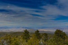 Nevada Mountains, los E.E.U.U. fotografía de archivo