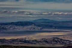 Nevada Mountains, USA. Mountains Charleston, Nevada, USA - sunset royalty free stock image