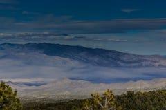 Nevada Mountains, USA. Mountains Charleston, Nevada, USA - sunset royalty free stock photo