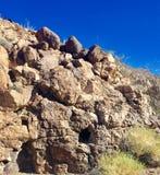 Nevada Nature. Rocks and mountains Stock Photo