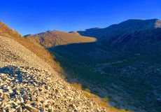Nevada Nature. Rocks and mountains Stock Photography