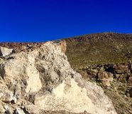 Nevada Nature. Rocks and mountains Stock Image