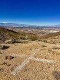 Nevada Nature. Rocks and mountains Stock Images