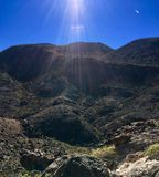 Nevada Nature. Rocks and mountains Royalty Free Stock Photography