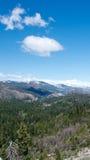 nevada panoramy sierra Obraz Stock