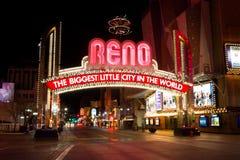 nevada Reno Obrazy Stock