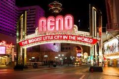 nevada Reno Zdjęcia Royalty Free