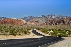 Nevada road Stock Photo
