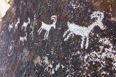 Nevada Rock Petroglyphs Imagem de Stock