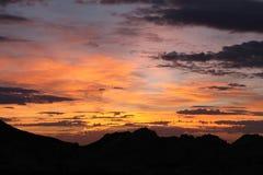 Nevada-Sonnenaufgang lizenzfreie stockfotografie