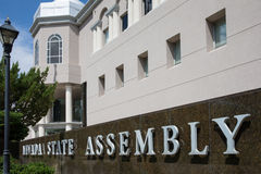 Nevada State Assembly. In Carson City, the Nevada state capital Royalty Free Stock Image