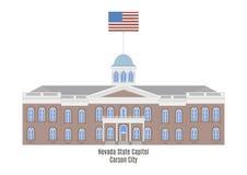 Nevada State Capitol, Carson City Royalty Free Stock Photo