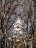 Nevada State Capitol Dome Royalty-vrije Stock Fotografie