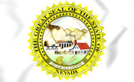 Nevada State Seal, Etats-Unis Photographie stock libre de droits
