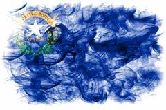 Nevada state smoke flag, United States Of America.  royalty free stock photo