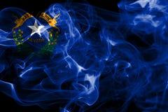Nevada state smoke flag, United States Of America.  stock photos