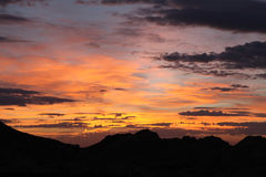 Nevada Sunrise Royalty Free Stock Photography