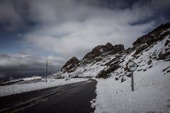 nevada toppig bergskedja Fotografering för Bildbyråer