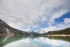 nevada toppig bergskedja Royaltyfri Fotografi