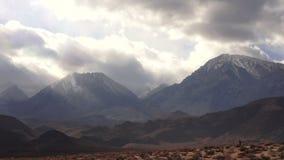 nevada toppig bergskedja arkivfilmer