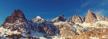 nevada toppig bergskedja Royaltyfri Bild