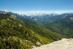 nevada toppig bergskedjadal Arkivbilder