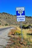 Nevada-Wüste Lizenzfreie Stockfotos