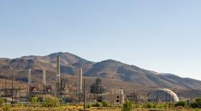 Nevada-Wüsten-Triebwerkanlage Lizenzfreies Stockfoto
