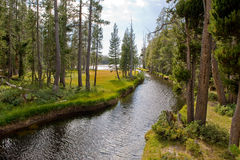 Nevada Wrights lake channel Royalty Free Stock Photography