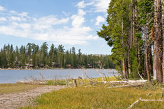 Nevada Wrights lake scenic Stock Photography