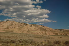 Nevada wzgórza Zdjęcia Stock
