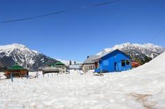 Nevadas de Cachemira imagen de archivo