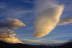 nevadastoppig bergskedja Arkivbilder