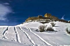 Nevado de Castillo de Argueso Photos stock