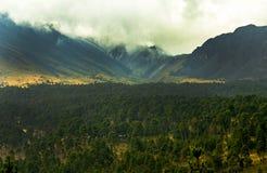 Nevado de Toluca arkivbild