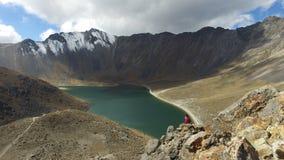 Nevado de Toluca. Photograph of the Nevado de Toluca captured in the month of October 2016 stock photo