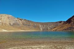 Nevado de Toluca, vecchio vulcano Fotografie Stock