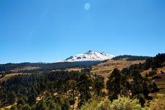 Nevado De Toluca XInantecatl obraz stock