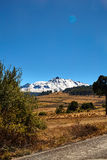 Nevado De Toluca XInantecatl fotografia stock