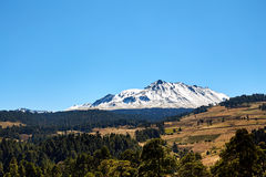 Nevado De Toluca Xinantecatl roadtrip obrazy stock