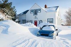 Nevado dentro Fotografia de Stock Royalty Free