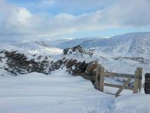 Nevado derriba Imagen de archivo
