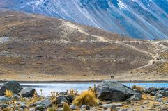 Nevado Di Toluca Meksyk obraz stock