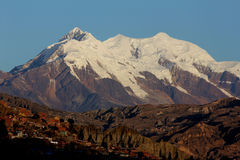 Nevado Illimani Stock Image