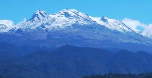 Nevado Iztlacihuatl Imagenes de archivo