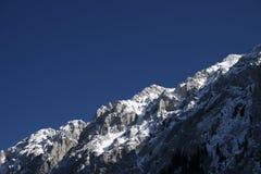 Cume da montanha Fotografia de Stock Royalty Free
