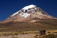 Nevado Sajama Royalty Free Stock Image