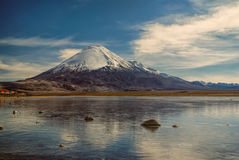 nevado sajama Photographie stock libre de droits